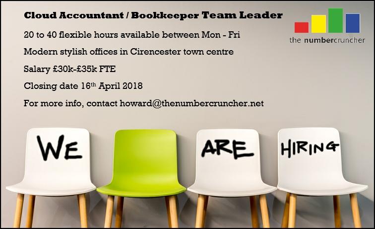 Cloud Accountant Bookkeeping Team Leader