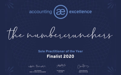 Short Listed – The Numbercrunchers – Accounting Excellence 2020